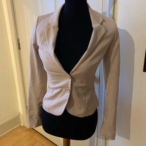 Cream colored H&M blazer